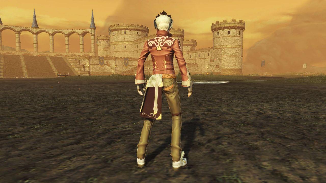 見果てぬ夢を黄昏の空に願う錬金術士の少年がまとう服のレプリカ
