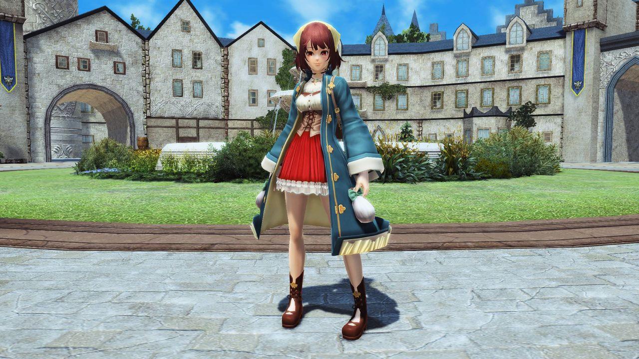 明るくほわっとした性格の錬金術が大好きな少女がまとう服のレプリカ