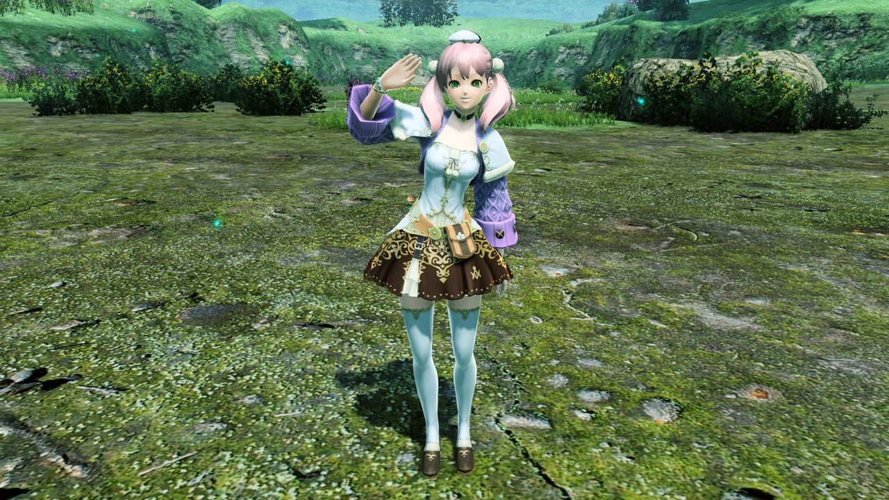 黄昏の空に夢を追い続ける錬金術士の少女がまとう服のレプリカ