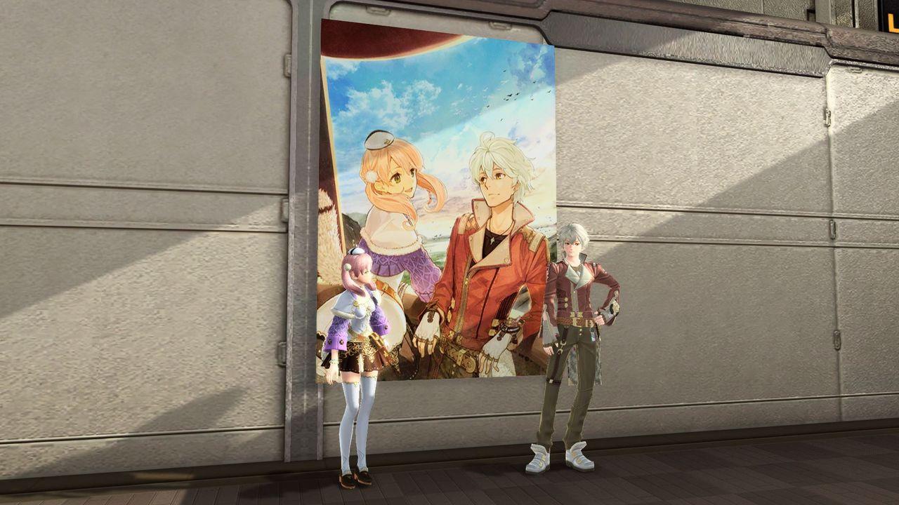 アトリエ・ポスターB:マイルームの壁に設置する装飾品。エスカ&ロジーのアトリエのポスター。「黄昏の空の錬金術士