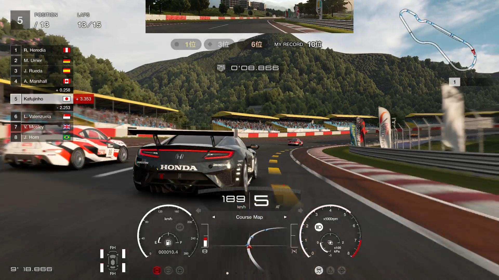 レース中の状況も課題に含まれてくると、本格的にレースシムの面白さが見え始める
