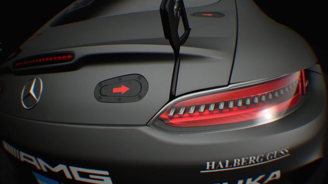 こちらはVRショールーム。好きな車を好きな角度からじっくり眺められる。どれだけ近づいてもポリゴンぽさが見えない、あまりもの高詳細ぶりに驚く