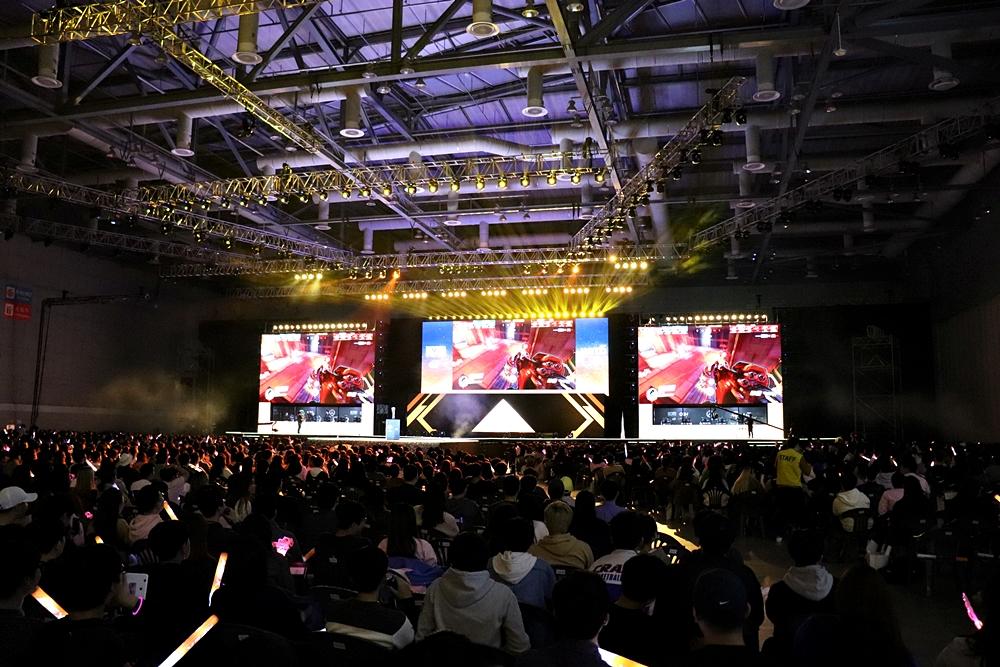 APEX決勝戦は毎回数千人の観客が会場に詰め掛けている