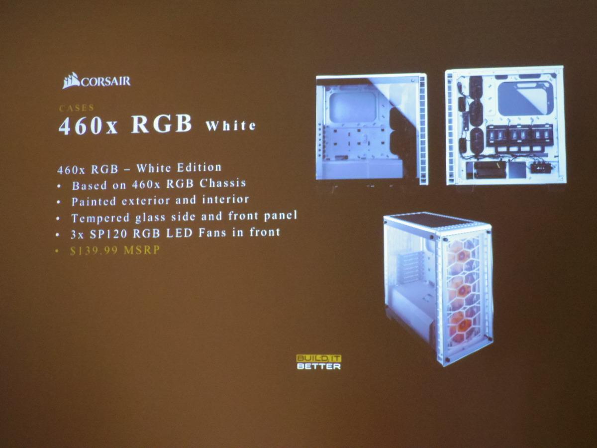 460x RGB White