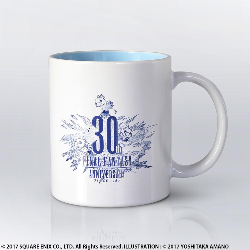 ファイナルファンタジー30周年マグカップ/価格:2,160円(税込)