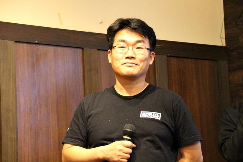 日本での発表を行なったSuper Evil Megacorpグローバル・パブリッシングジェネラルマネージャーのTaewon Yun氏