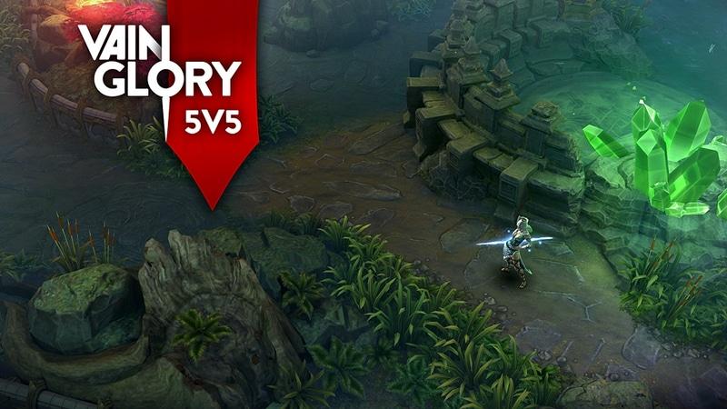 「Vainglory」の新たな挑戦、5V5モード。画像で見るだけでもワクワクしてくる
