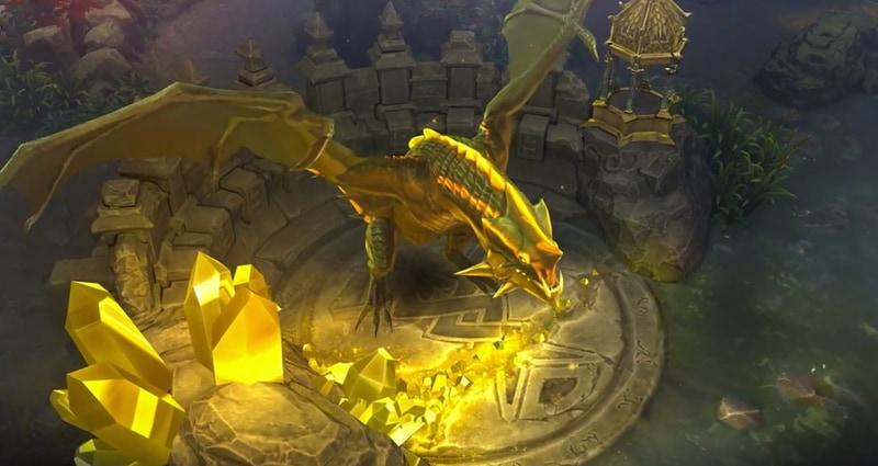2匹のドラゴン。それぞれ強力な効果を持つ