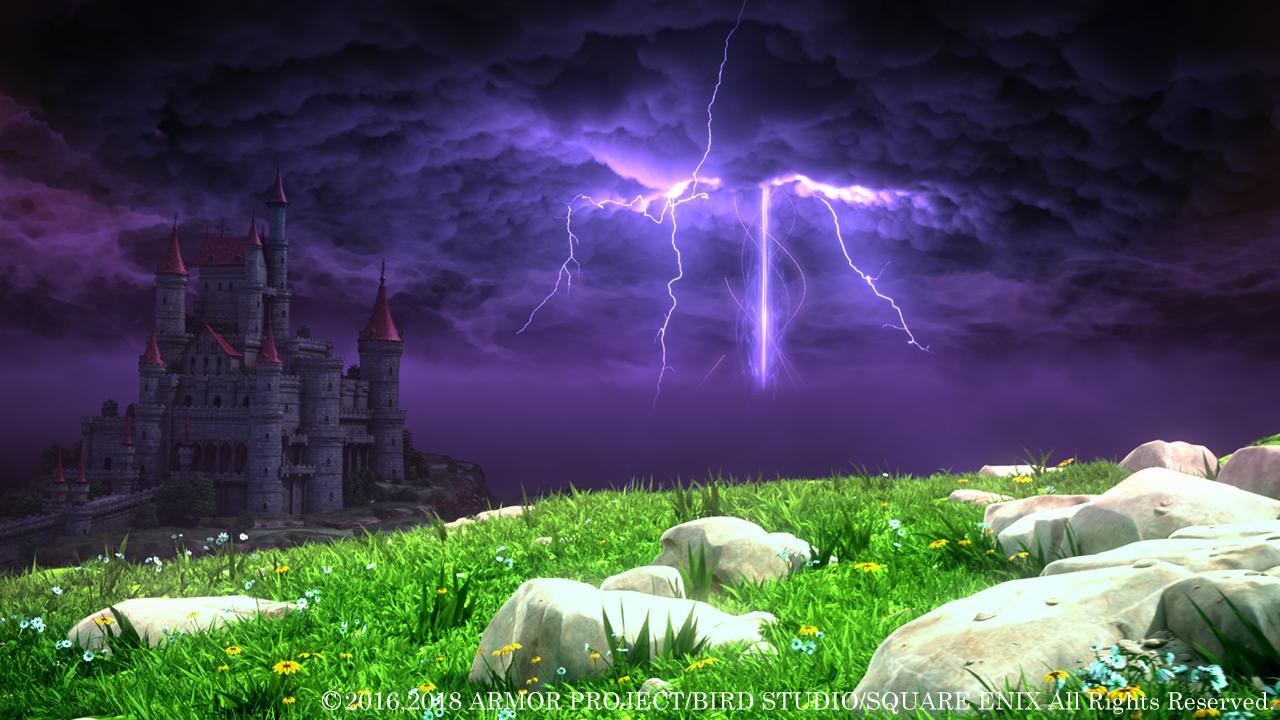 闇に包まれたアレフガルド。世界は荒れ果て、人々は希望を失っている