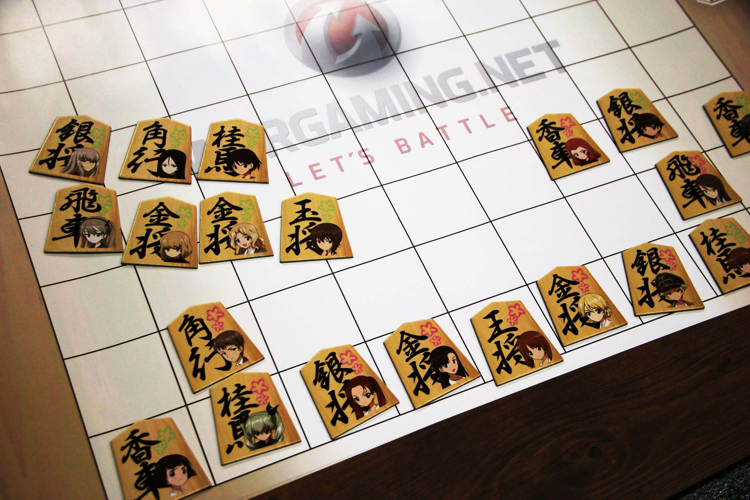 将棋カードは揃えて駒としても使える