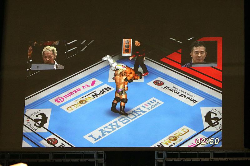 一進一退の攻防から、一瞬の隙を突いてスルッと勝利を持って行ったKUSHIDA選手。やはり「ファイプロ」巧者だった!