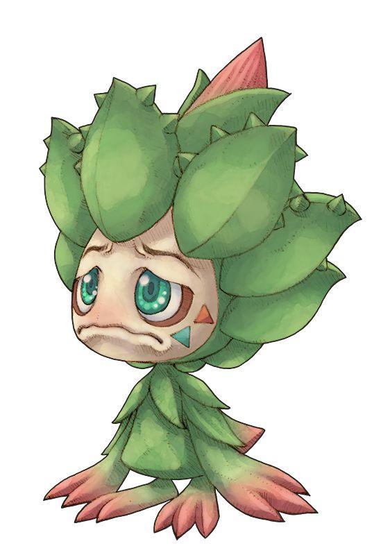 プレーヤーキャラクター「アロエちゃん」