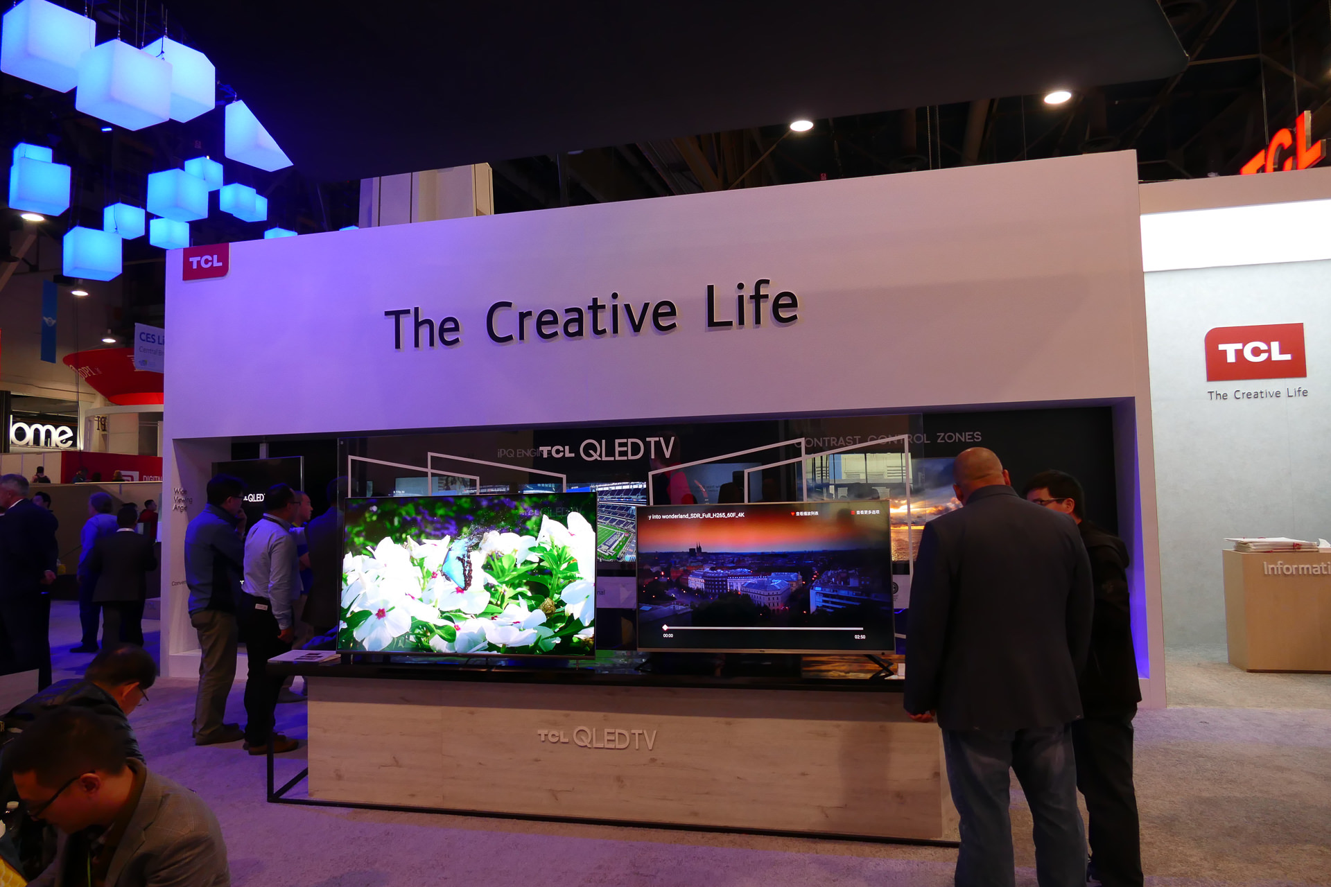 中国TCLはSAMSUNGに先んじて2014年に量子ドットテレビを発表したほどの実力メーカー