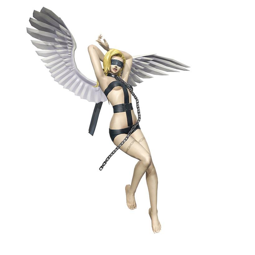 """<strong class=""""em """">エンジェル</strong><br />天使のヒエラルキーにおいて上から9番目であり、最下の「天使」に数えられる天使。最も人間の近くにいる存在で、エンジェルはヘブライ語で「使者」を意味し、その数は人間の倍もいると言われている。他の天使と違い人間個人を守護し、その人間が正義の道から足を踏み外さないように監視し、悪に向かおうとする心があれば戒める。"""