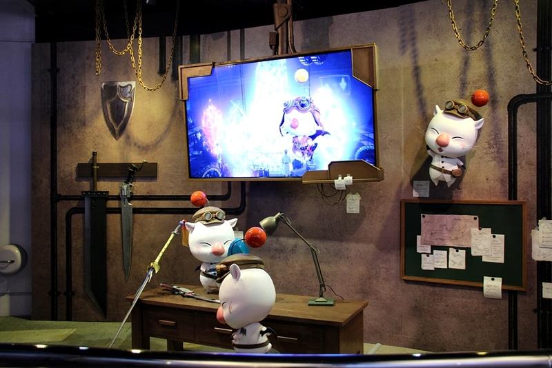 アトラクション内ではストーリーを紹介するプレショーが上映されている