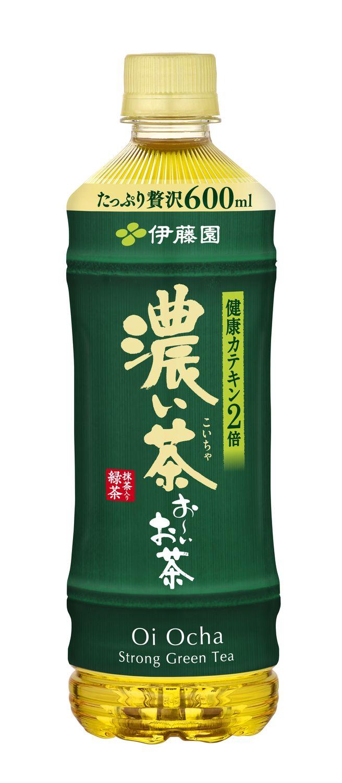伊藤園お~いお茶濃い茶600ml/価格:129円(税込)