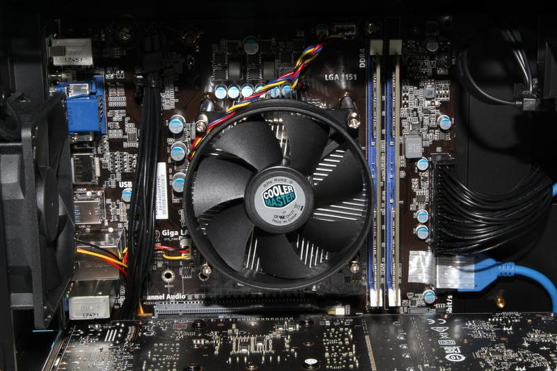 CPU周りの拡大画像