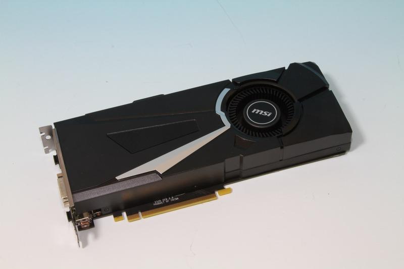 MSI製のGeForce GTX 1070