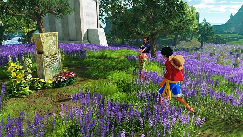 花に囲まれた墓地。そこに眠るのは?