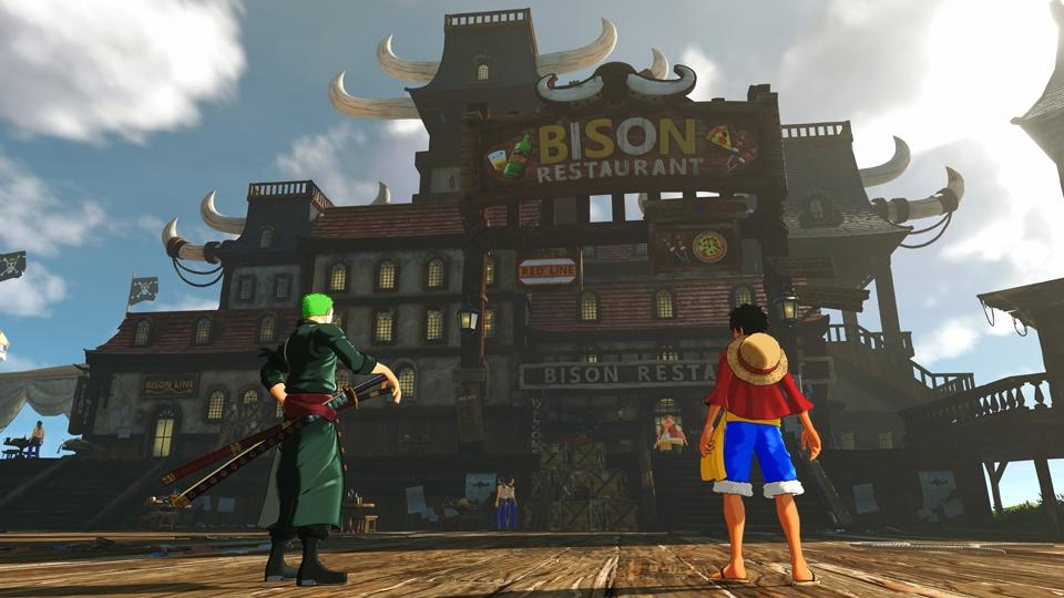 海賊や荒くれ者が集まる酒場で情報収集