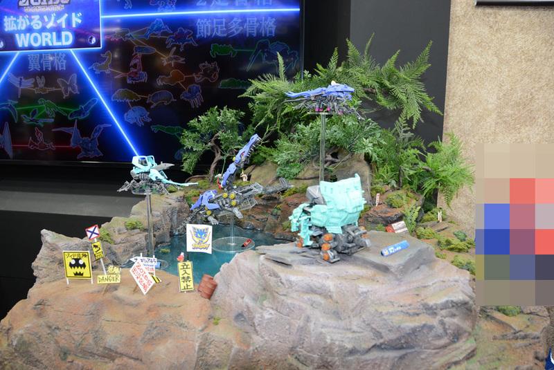 「ゾイドワイルド」は多彩なジオラマや過去シリーズを展示