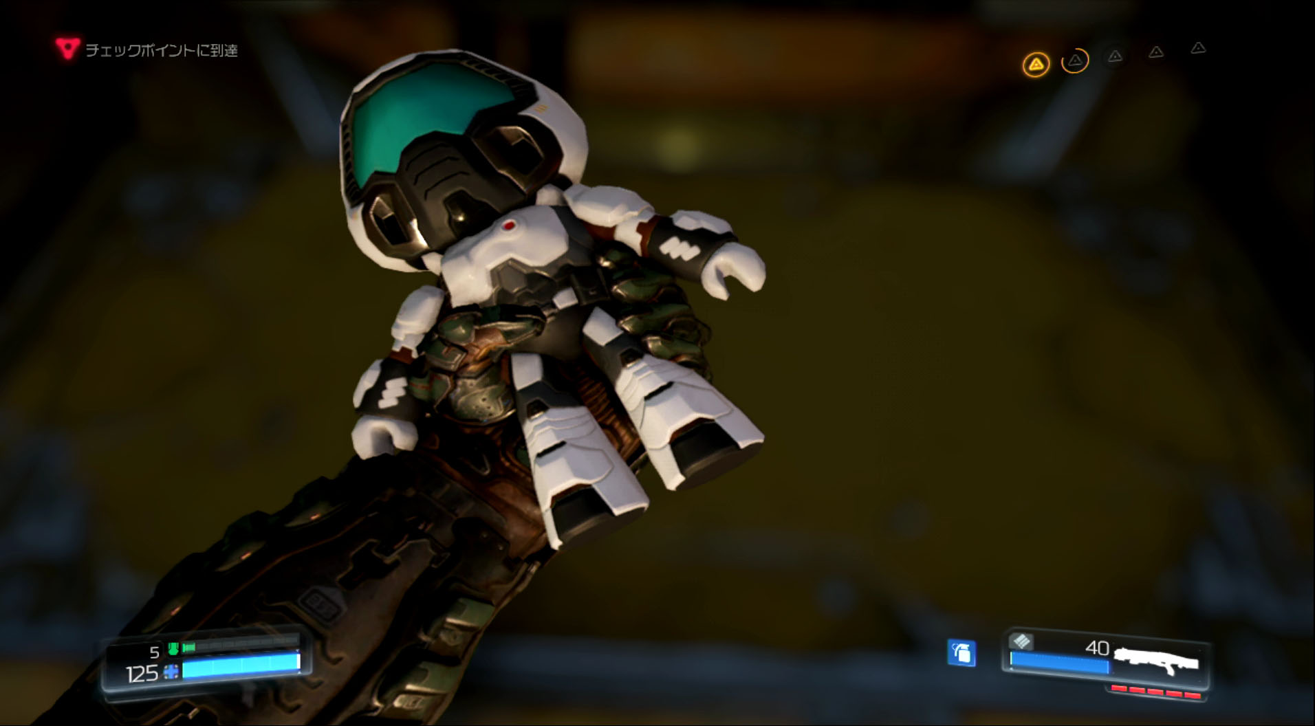 収集アイテムの人形