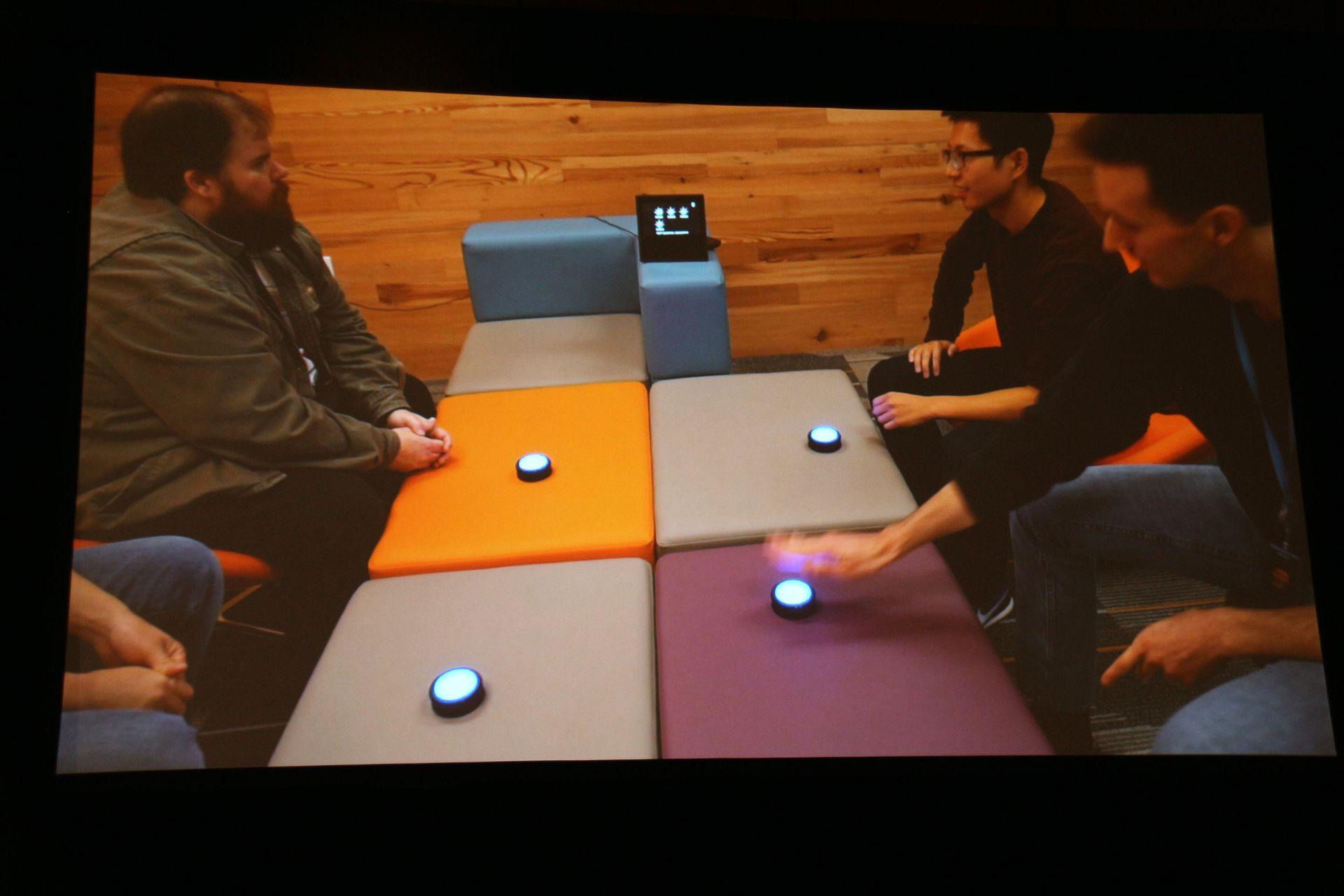 一見シンプルなクイズゲームだが、Alexaのクラウドテクノロジーがフル活用されている