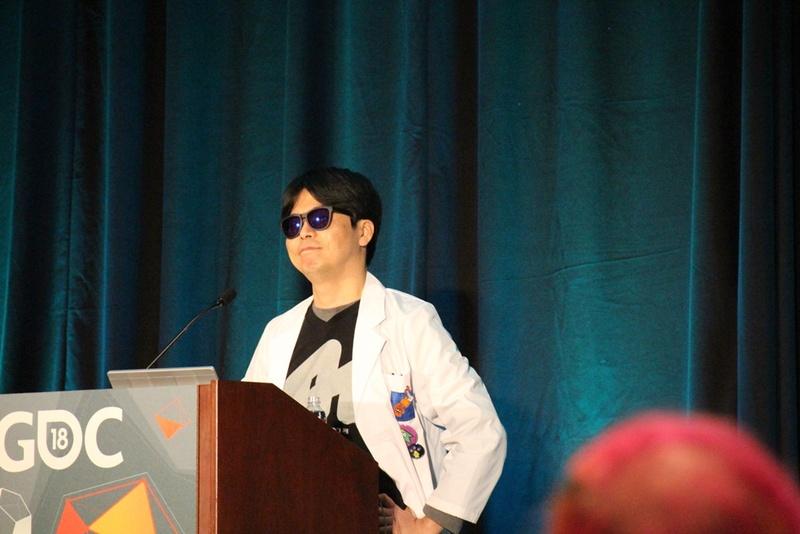 イカ研究所の研究員です! とそれっぽい恰好で登場した野上 恒氏