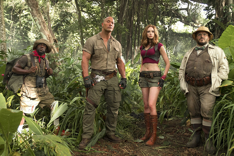 ジャングルで別のキャラクターとなって登場