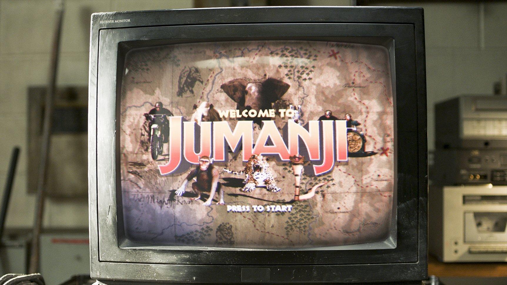 前作との最大の違いは「ジュマンジ」がビデオゲームに進化しているところ