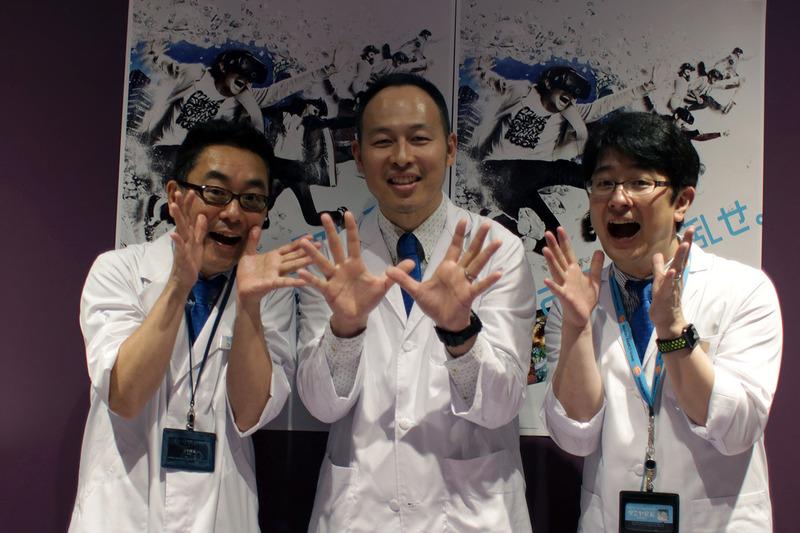 左から「Project i Can」を担当する小山順一朗氏、プロデューサーの濱野孝正氏、そして田宮幸春氏