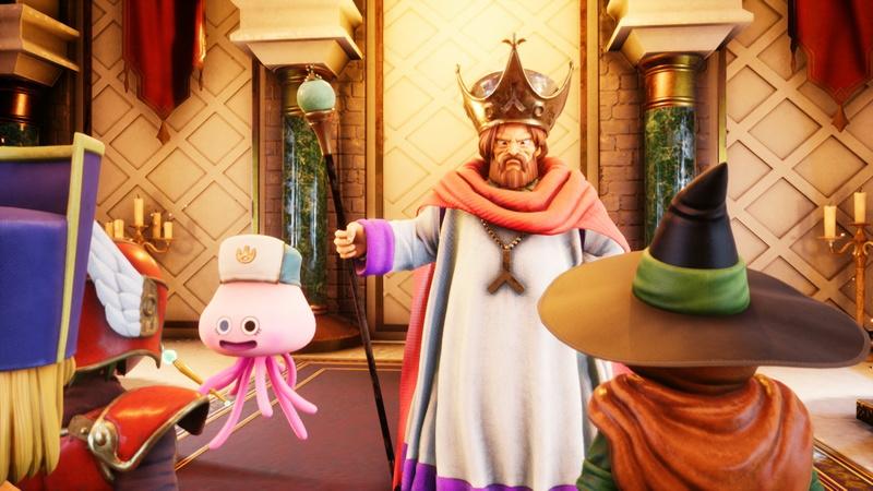 王様との謁見からゲームはスタートする