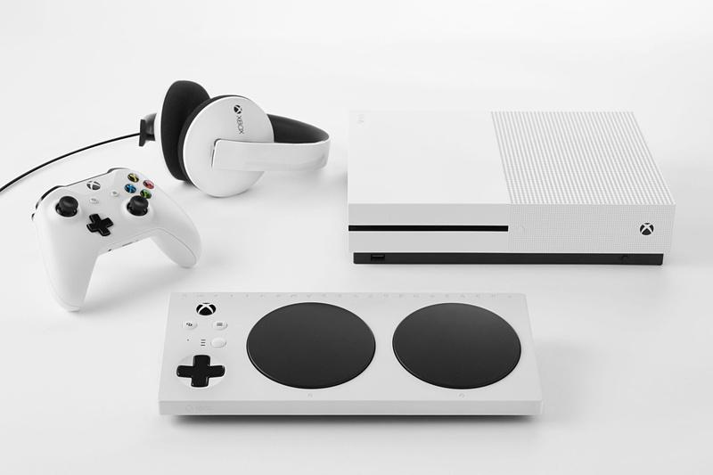 Xbox One Sと同じホワイトカラーを採用