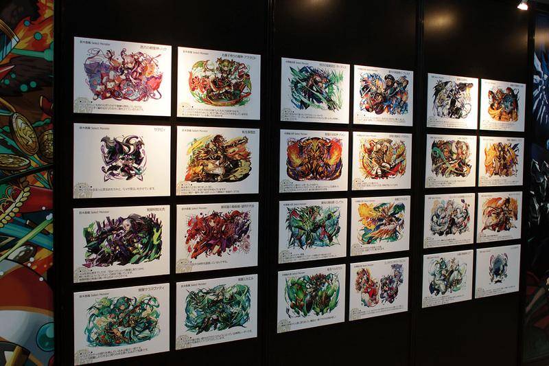 数多くのキャラクターのイラストが展示されているのはもちろんのこと、開発時の貴重なイラストも展示されている。さらにシルエットクイズも用意されているのだが、これがなかなか難しいようで、来場者の頭を悩ませていた