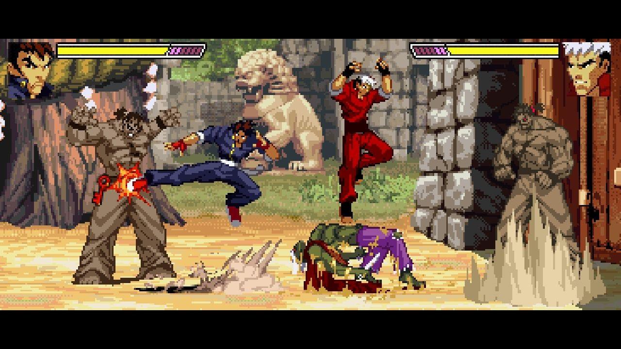 「ストーリーモード」と「サバイバルモード」、「レリックハンティングモード」の3つのモードで2P協力プレイに対応
