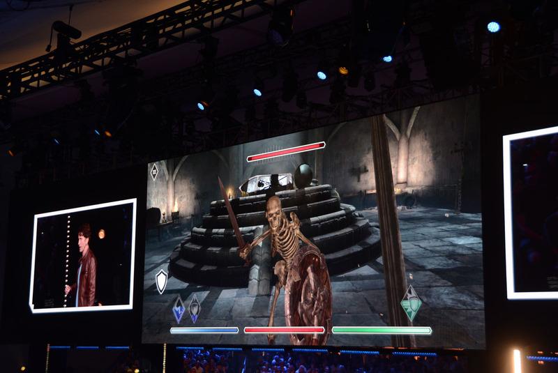 モバイルで本格的な戦いが楽しめる「The Elder Scrolls BLADES」