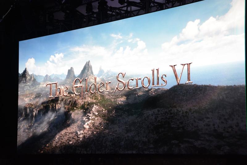 最後に発表された「The Elder Scrolls VI」