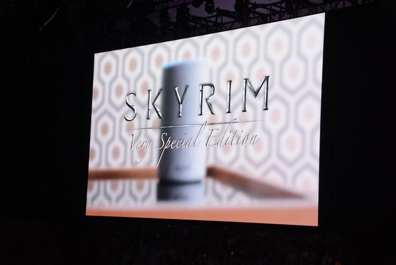 スマートスピーカーで、言葉のみの「スカイリム」。インターネット冷蔵庫版も展開予定……というジョークPV
