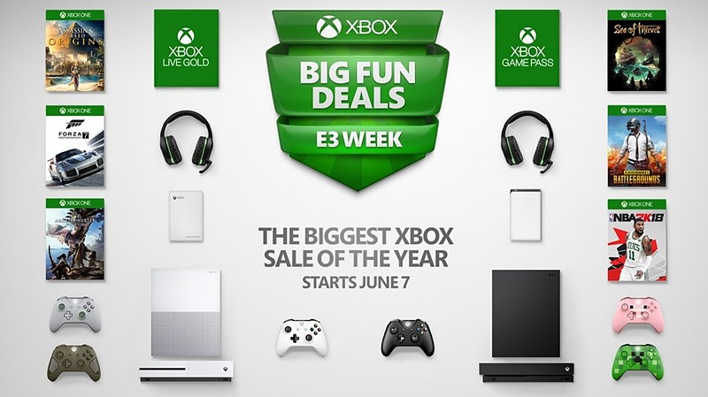 北米で行なわれているE3に合わせたビッグセールでは、Xbox Live GoldやXbox Game Passが1ドルで加入できる