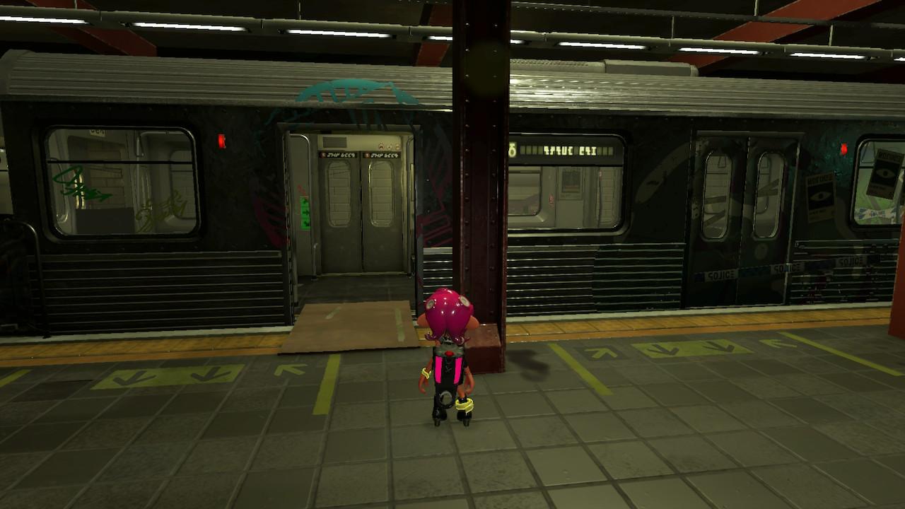 """タコはある地下鉄駅で目覚める。アタリメ司令いわく、""""魂にシオカラ節のグルーヴを宿したタコ""""らしい"""