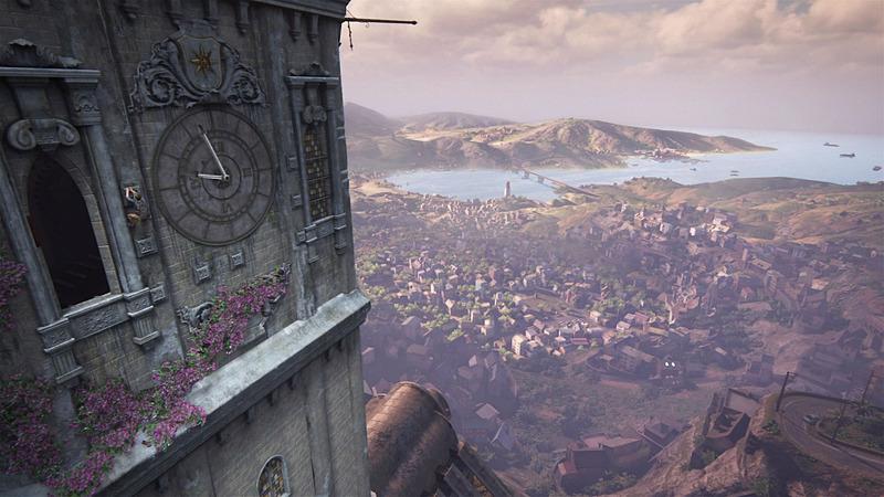 「アンチャーテッド 海賊王と最後の秘宝」。PS4 Pro Enhancedで画質が向上するタイトルのひとつだ