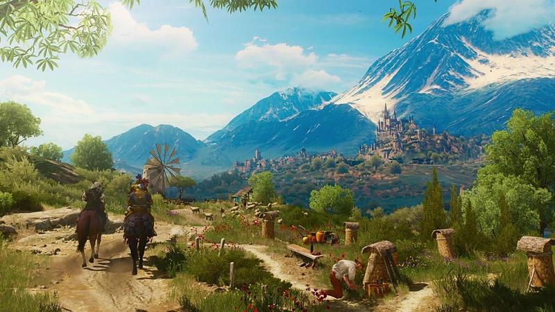 「The Witcher 3: Wild Hunt」は美麗なグラフィックも売りのひとつ。NVIDIAのスクリーンショット機能「ANSEL」にも正式対応している