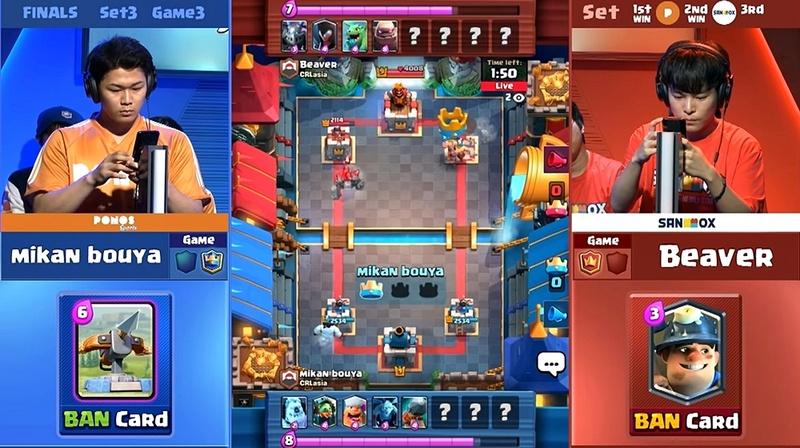 3Set第3ゲーム、右のアリーナタワーに速攻をかけるみかん坊や選手。これが決め手となりチームを勝利に導いた