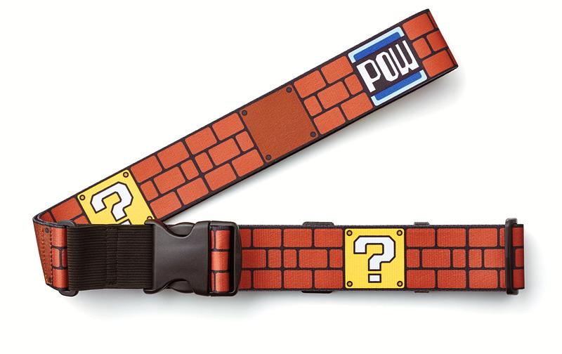 スーパーマリオでおなじみの「ハテナブロック」や「POWブロック」をデザインに使用した「ブロック」