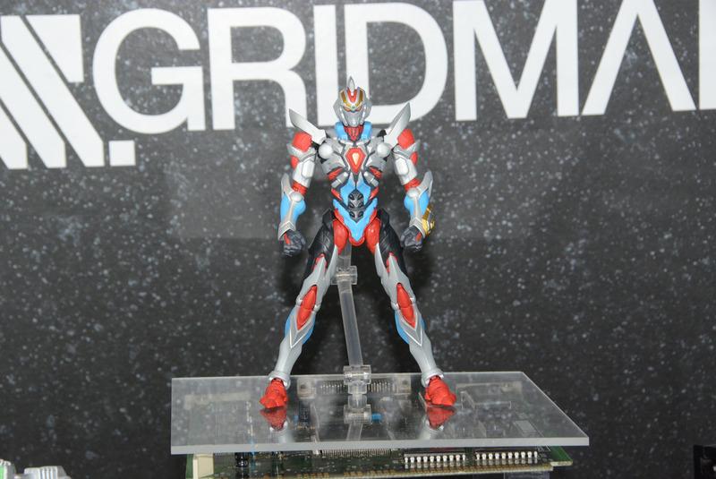 田中宏明氏が手がける完成品トイとしての「ssssGRIDMAN」。ギミックも大いに期待できそうだ