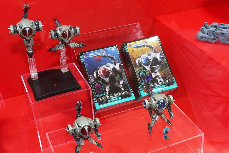 「ビッグパワードGV」と「ダイアバトルスV2」を使った新しいジオラマも展示