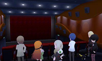 怪盗団が迷い込んだ映画館の中で出会うひかりとナギ。映画の中から出てきた彼らに彼女らも驚きを隠せない