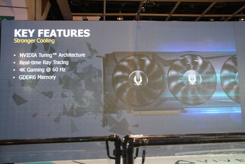 GeForce RTX 20シリーズ。ZOTACのビデオカードではそれぞれ独立したファンコントロールが可能