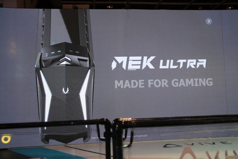 ZOTACのゲーミングPCの最上位モデル「MEK ULTRA」。GeForce RTX 20シリーズを搭載し、水冷を備えたモンスターマシン
