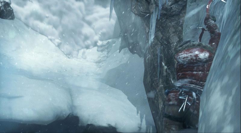 目前に迫る雪崩。これでも生還するのがララの凄さだ